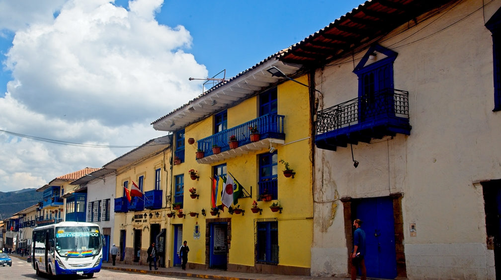 Cuzco City Alley