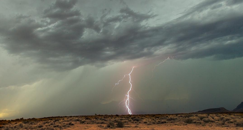 Zion lightning